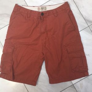 Docker shorts. Size 33. Rust colored